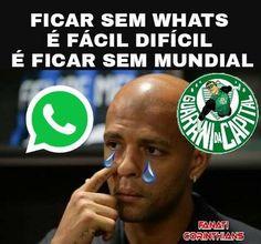 Palmeiras perde, WhatsApp cai, memes zoam o Verdão – FUTEROCK