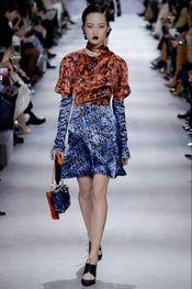 flores Christian Dior - Pasarela