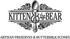Kitten and the Bear - confiturier but they have tea and scones to go with their awesome jams. Food Packaging Design, Branding Design, Damson Plum, Organic Plants, Organic Gardening, Tea Logo, Garden Boots, Brand Icon, Cafe Logo