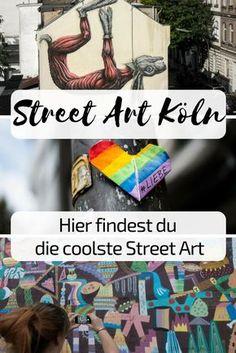 Street art Cologne – tips for Belgian Quarter & Ehrenfeld - Dinnerrecipeshealthy sites Moving To Germany, Germany Travel, Banksy, Craft Museum, Cologne Germany, Travel Around Europe, Best Street Art, Travel Goals, Travel Tips