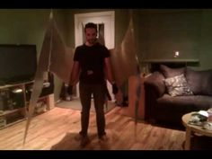 Arduino-controlled, Aluminum Archangel Costume Wings