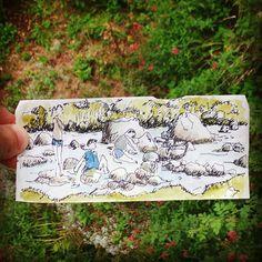 #lafruitiere #lacdestom #cauterets #pyrenees #jouer à faire des #barrage sur la…