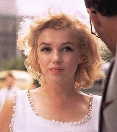 I like this pic- because it is Marilyn being herself. :)