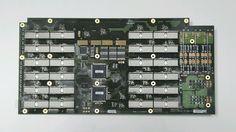Spirent SmartBits SMB-6000C Chassis Back Board PCB 40-00015-101 REV B2 #spirent