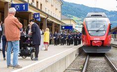 """19.06.2016 - ÖBB-Zugtaufe """"Sonnenstadt Lienz"""" - Lienz http://ift.tt/1Ox2KBH #brunnerimages"""