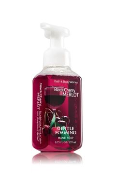 Black Cherry Merlot Gentle Foaming Hand Soap - Anti-Bacterial - Bath & Body Works...my favorite new scent!!