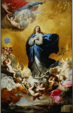 Immaculate Conception, 1635. (Jusepe de Ribera)