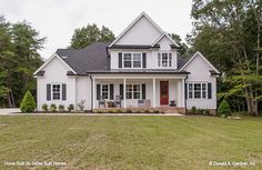 New photos of The Derbyville plan 1032 built by Better Built Homes in Tennessee! #WeDesignDreams #DonGardnerArchitects