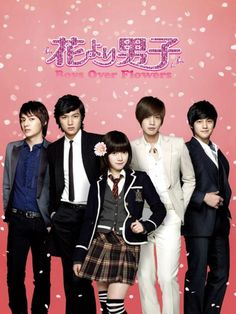 Boys Over Flowers (My first K-drama T.T)