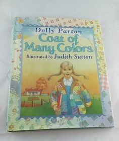 coat of many colors by dolly parton first edition 1994 childrens book by bridgestoadventure on etsy - Dolly Parton Coat Of Many Colors Book