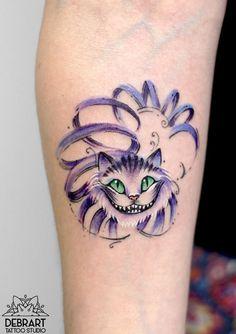 Ideas Of Cool Geometric Tattos Trendy Tattoos, Small Tattoos, Tattoos For Women, Tattoos For Guys, Disney Tattoos, Disney Sleeve Tattoos, Neue Tattoos, Body Art Tattoos, Cheshire Cat Tattoo