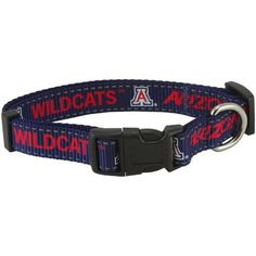 Pet Goods NCAA Arizona Wildcats Dog Collar, Medium -- Find out more about the great product at the image link.