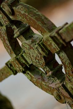 patina on gate #patina #gate