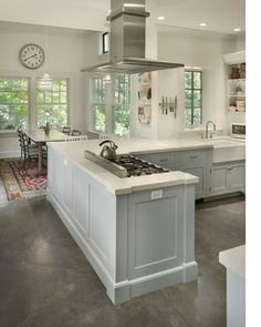 Grey Concrete Floors with White Kitchen.  floors_2.jpg (425×533)