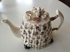 Details about Portmeirion Botanic Garden Cardew Teapot Tea Pot Large ...