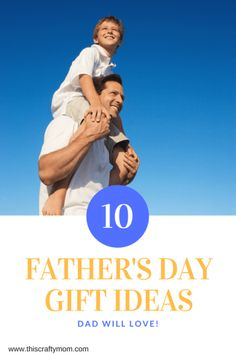 Looking for Father's Day Gifts Dad will love? Check out this post full of fun and unique gifts for Dads with all kinds of hobbies! Easy Father's Day Gifts, Unique Gifts For Dad, Creative Gifts, Diy Gifts, Good Parenting, Parenting Hacks, Peaceful Parenting, Mother Birthday Gifts, Fathers Day Gifts
