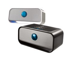 Brookstone Big Blue Live Wireless Bluetooth Speaker - Provides crystal-clear sound wirelessly from any Bluetooth enabled device