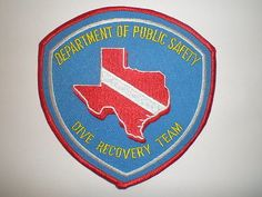 TX-Texas-Highway-Patrol-State-Police-DIVE-RECOVERY-TEAM-patch-Public-Safety-DPS