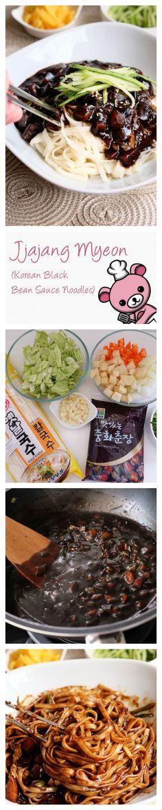 http://www.bearnakedfood.com/2016/05/04/jjajangmyeon-korean-black-bean-sauce-noodles/