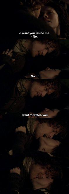 Outlander - S01E11 - Jamie & Claire ♥