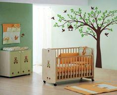 Diy Nursery School Baby Child Room Monkey&tree Wall Sticker Decal Mural Paster Exquisite Craftsmanship; Wall Stickers Home & Garden