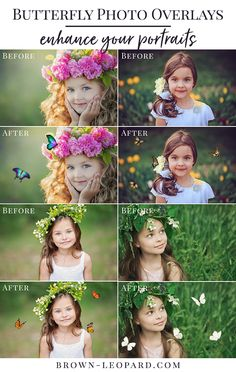 butterflies photo overlays, butterfly photo overlays, butterfly overlays, photo overlays for Photoshop by Brown Leopard