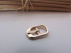 1cb23189390 5 boucle de ceinture lanière de 8mm métal doré argenté Boucle De Ceinture