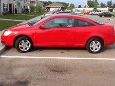 The 2007 chevy colbalt bought aug 12 3013 ..never paid for a newer car..this is it!