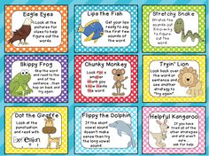 "Super Cute Reading Strategy Posters with POLKA DOT backgrounds! Free thanks to The Kinder""garden"" Teacher!! Check out her blog! She has the most adorable freebies!!"