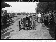 Gaillon, [9/10/]1920, [René] Thomas sur Sunbeam [course de côte automobile] : [photographie de presse] / [Agence Rol] - 1