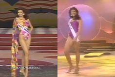 Denise Floreano - Miss Venezuela, en Trje de Baño cuando era Candidata al Miss Venezuela y en Traje de Baño en su presentacion en Traje de Baño, en el Miss Universe 1995 by Antoni Azocar..