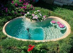 15 Absolutely-Stunning Backyard Water Pond That Will Catch Your Eye - The ART in LIFE