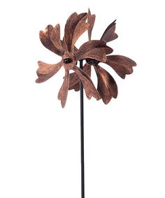 Loving this Red Petal Kinetic Garden Stake on #zulily! #zulilyfinds