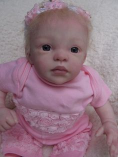 Reborn Baby Girl Doll Prototype Sydney by Marita Winters + Sarah Mellman Resale