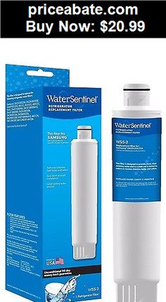 Major-Appliances: 1-Pack Water Sentinel WSS-2 Refrigerator Water Filter for Samsung DA29-00020B  - BUY IT NOW ONLY $20.99