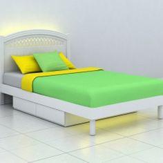 Кровать  с выдвижным и ящиками - 5990 грн.  В комплкет входят: 1-спальная кровать с нижними боковыми выдвижными ящиками для хранения постельных принадлежностей. Рекомендуемый размер матраса 1200х1900 мм.Матрас не включен в комплект.