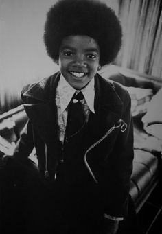 A young Michael Jackson.