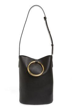 Stella McCartney 'Medium Ring' Faux Nappa Leather Bucket Bag