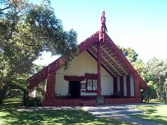 Maori Treaty House at Waitangi, New Zealand. The Declaration of Independence was signed October 28, 1835 and the Treaty of Waitangi was signed February 6, 1840. The treaty allowed for a British Governor of New Zealand, Maori ownership of lands & Maoris would receive British righs.