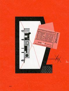 Irving Harper ad for Herman Miller, 1952 Vintage Graphic Design, Graphic Design Posters, Poster Designs, Herman Miller, Posters Conception Graphique, Architecture Old, Architecture Posters, Design Strategy, Art History