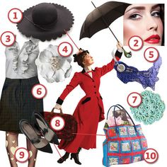 Mary Poppins · DIY The Look · Cut Out + Keep