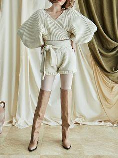 Chunky Knitwear, Knit Picks, Fall Sweaters, Knitting Designs, Knit Cardigan, Autumn Winter Fashion, What To Wear, Women Wear, Neutral Tones