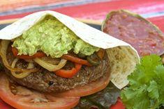 Easy Delicious Island Grillstone Fajita Burgers - Cooking Outdoors