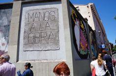 """3TTMAN. Proyecto """"Muros"""".#ArteTabacalera Promoción del Arte #ArteUrbano #StreetArt Madrid Día de la Inauguración. #Arterecord 2014 https://twitter.com/arterecord"""