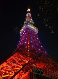 Tokyo Tower 2020 by Hiroshi Nakanishi