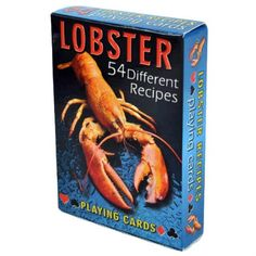 Lobster Recipes Playing Cards – Deck of 54 Cards