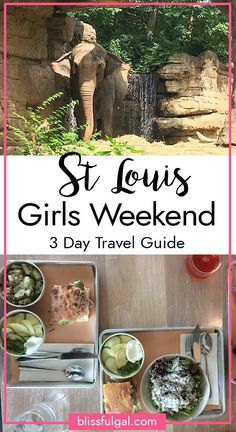 Girl's Travel Guide. Finding things to do in St. Louis, Missouri is never a difficult thing to do and whenever I visit there are always tons of fun activities to get involved in. These St. Louis restaurants and attractions need to be added to your St. louis itinerary asap. This girls trip for a weekend away with your friends is the perfect getaway in the midwest! #stlouis #travel #travelguide #ustravel #midwesttravel #weekendtravel #girlstravelguide