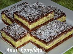 To je nápad! Hungarian Cake, Hungarian Recipes, Sweet Cookies, Cake Cookies, Sweet Desserts, No Bake Desserts, My Recipes, Cookie Recipes, European Dishes