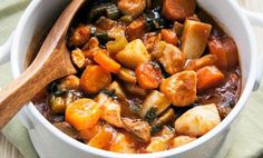 Slow Cooker Chicken Stew With Potatoes