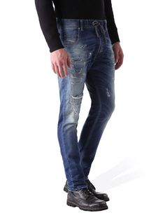 Diesel carrot Jeans for man: buy the perfect fit to make your legs look slimmer and longer. Update your closet with the latest arrivals on Diesel Official Online Store. Jogg Jeans, Diesel Jeans, Blue Jeans, Perfect Fit, Slim, Legs, Pants, Stuff To Buy, Shopping